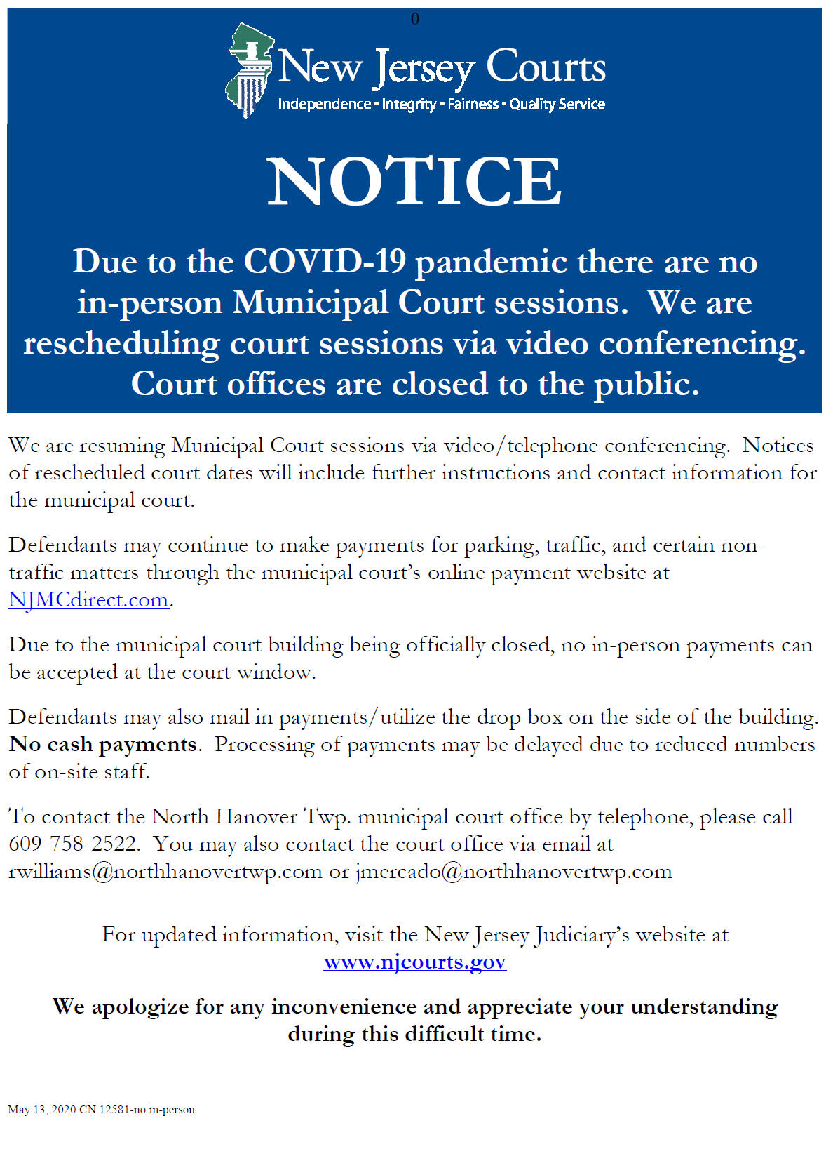 Court For New Hanover Court Calendar