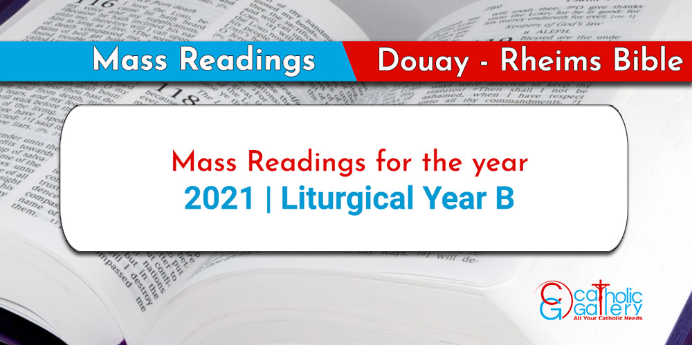 Daily Mass Readings – 2021 – Catholic Gallery Intended For Liturgy Of The Hours 2021 Printable