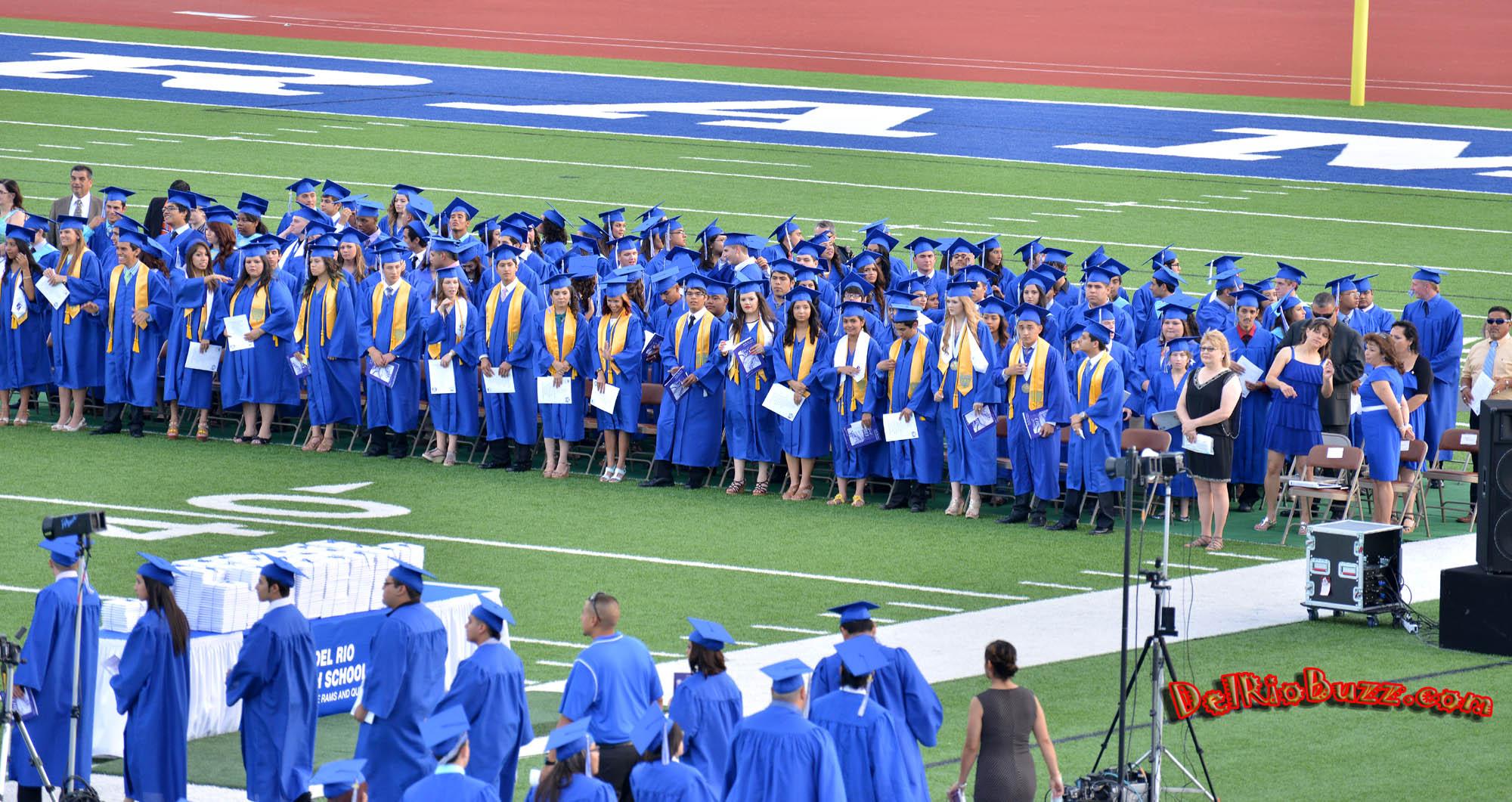 Del Rio High School Graduation 2013 With Regard To Del Rio Highschool