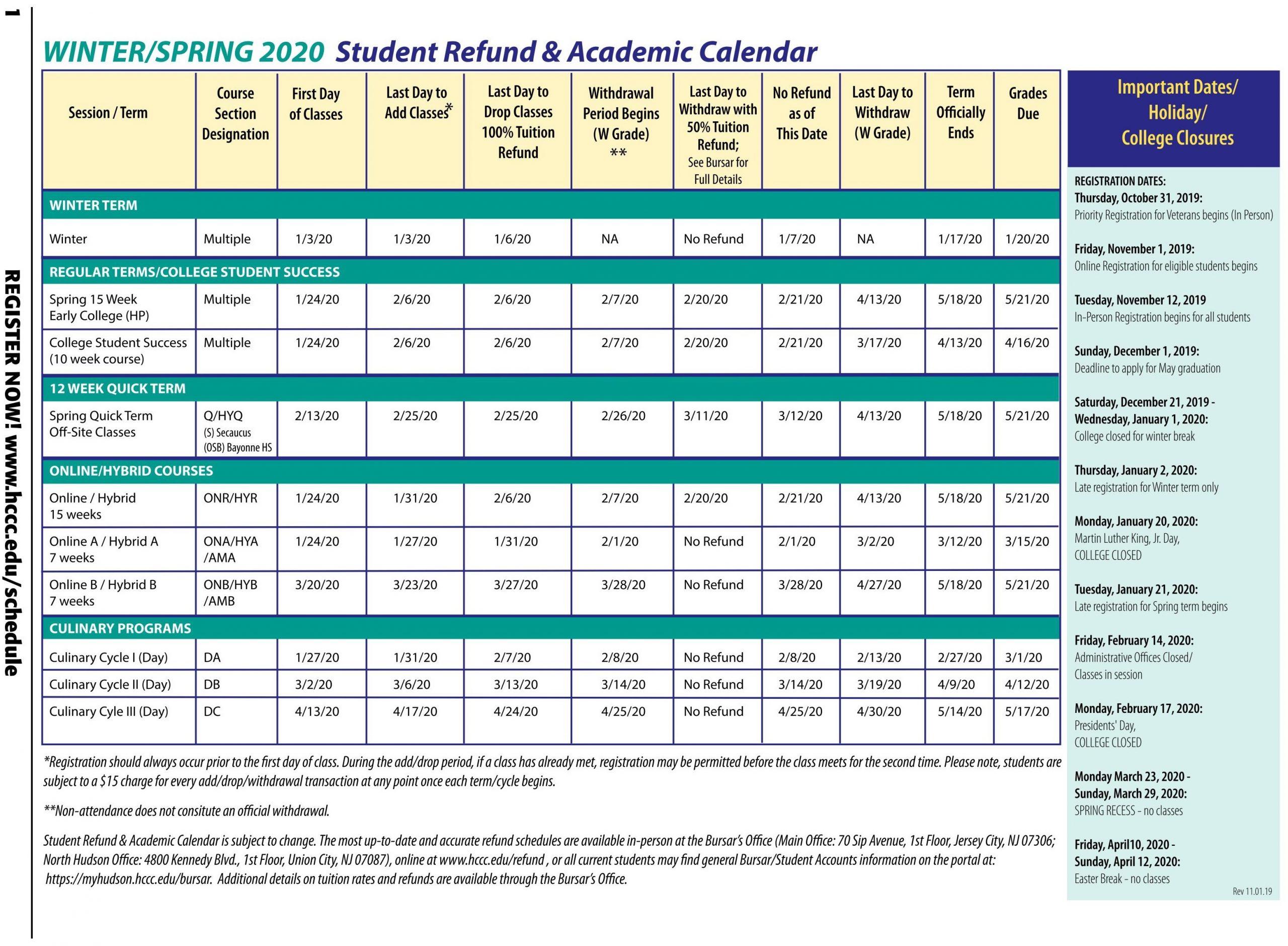 Delaware University Academic Calendar | Printable Calendar Throughout Uri Academic Calendar