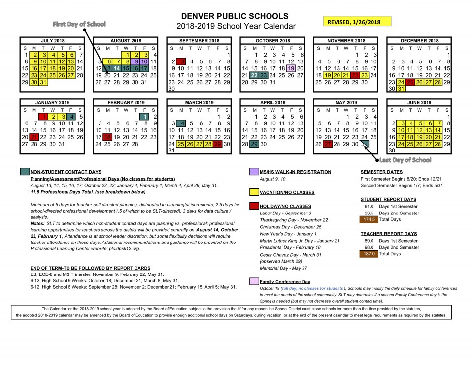 Denver Public Schools Calendar 2020 17   Calendar Fall 2020 With Regard To Boyertown School District Calendar 2020 17