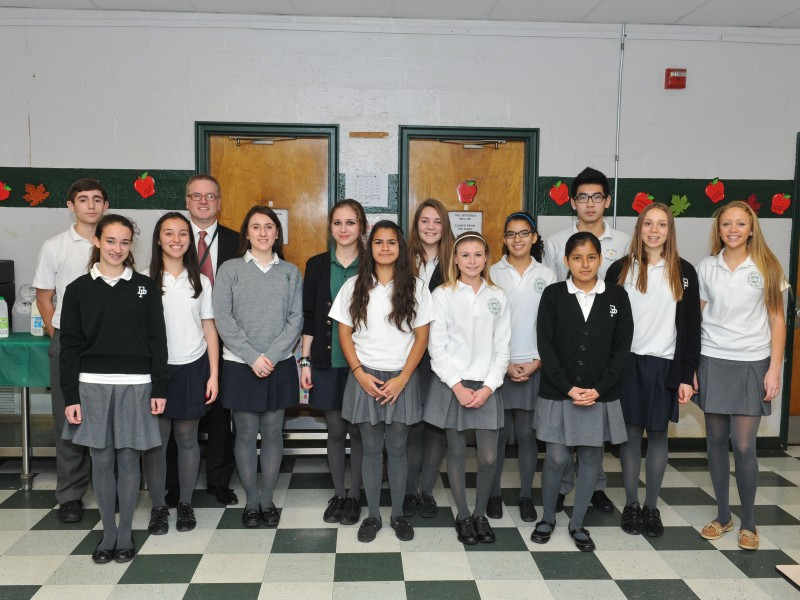 Depaul Catholic Recognizes Students Who Earned Principal'S In Tri C Academic Calendar 2014