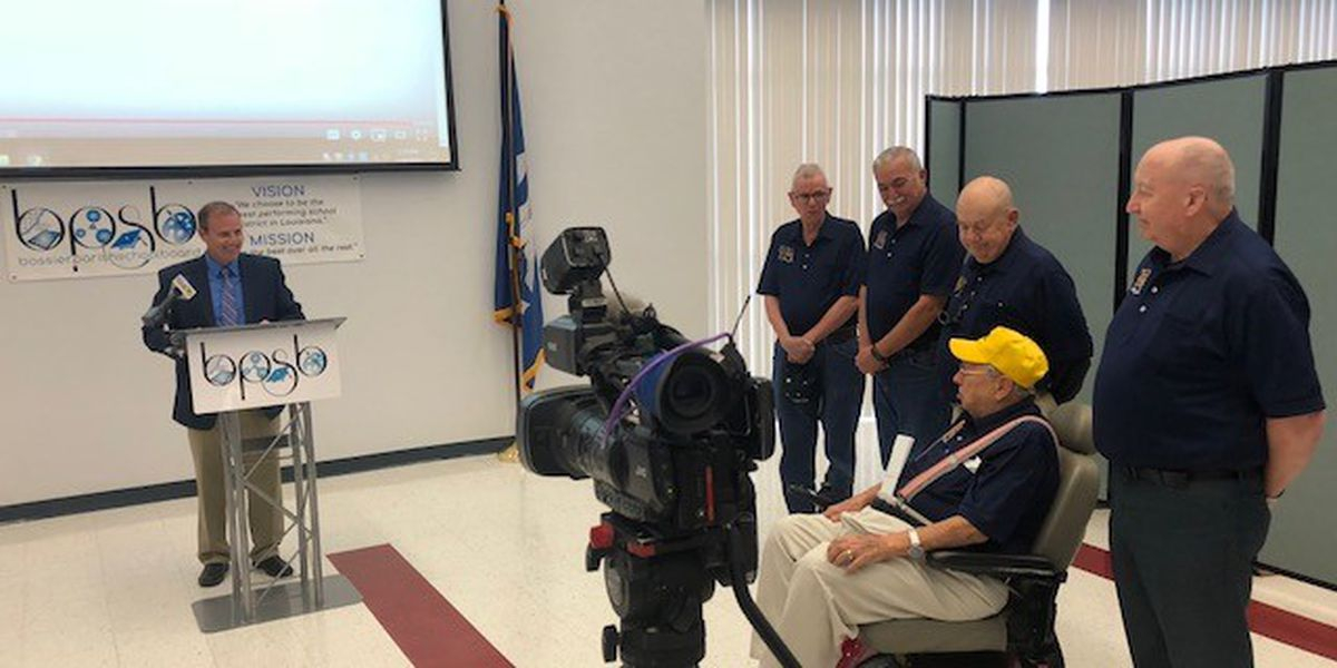 Disabled Veterans Of Louisiana Make Generous Donation To Pertaining To Bossier Parish School Board Calendar