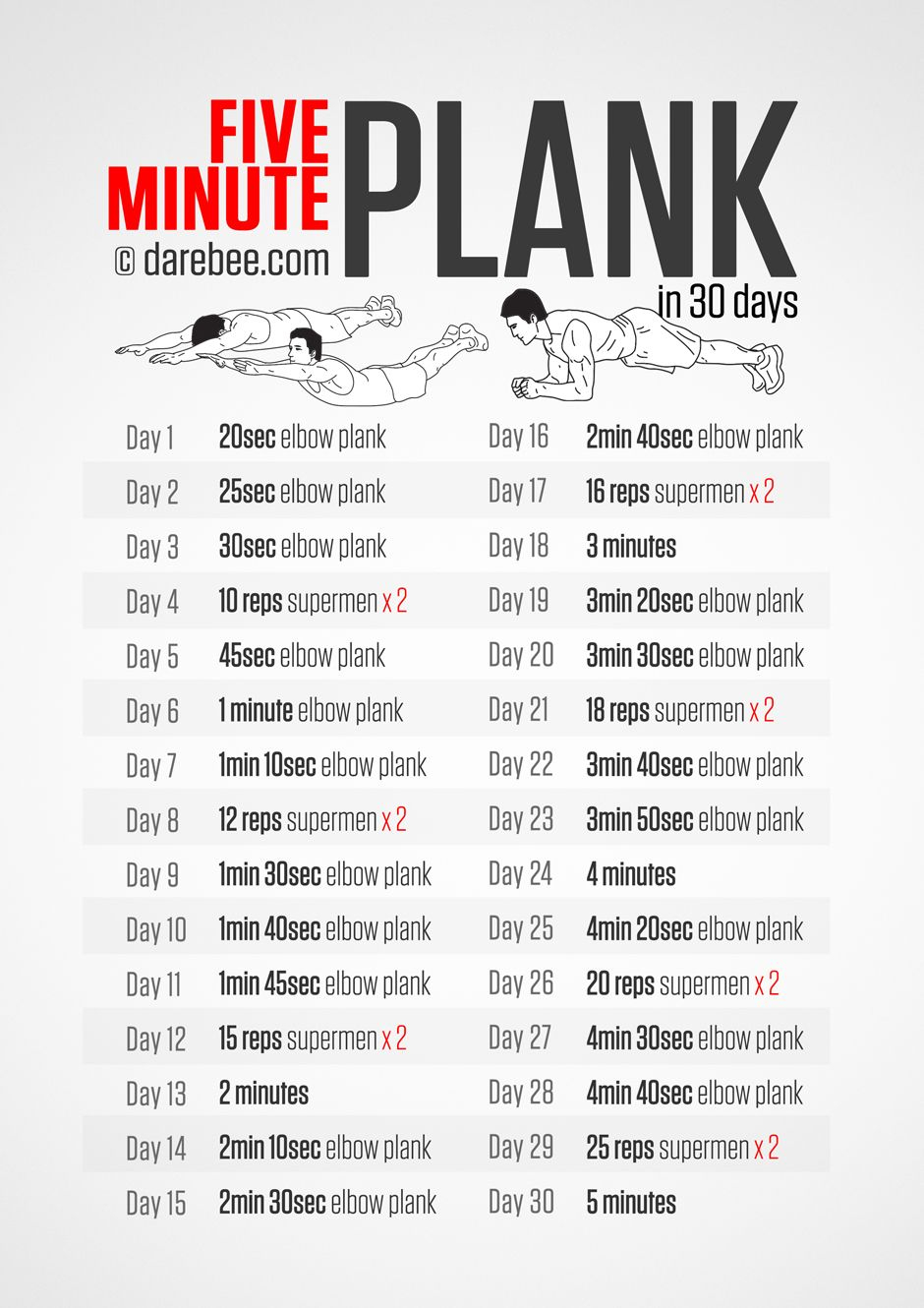 Download High Resolution .Pdf Poster | Workout Challenge With Regard To Sit Up Challenge Pdf