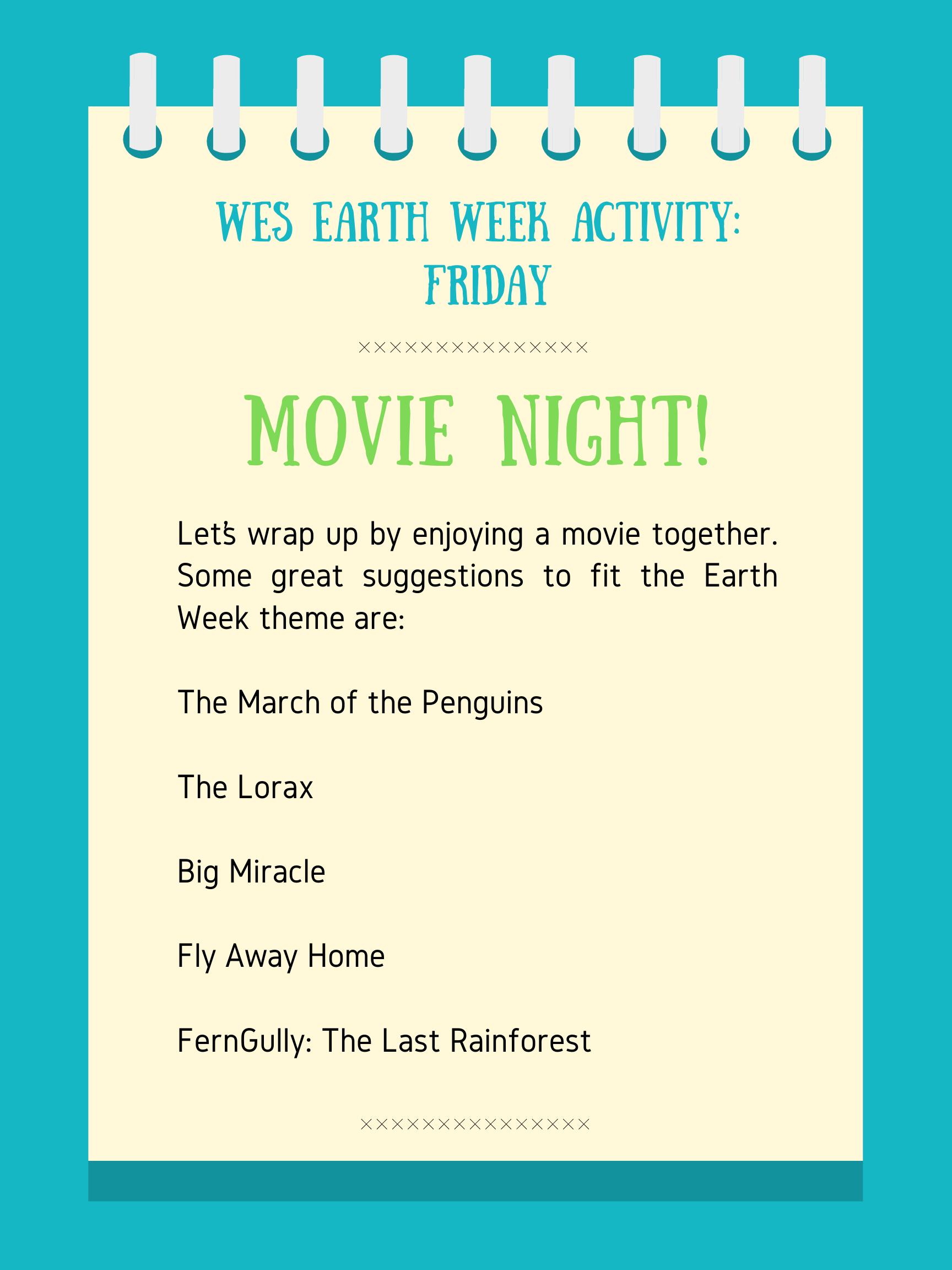 Earth Week Activities – Friday – Warman Elementary School Intended For Sun Prairie School District Calendar
