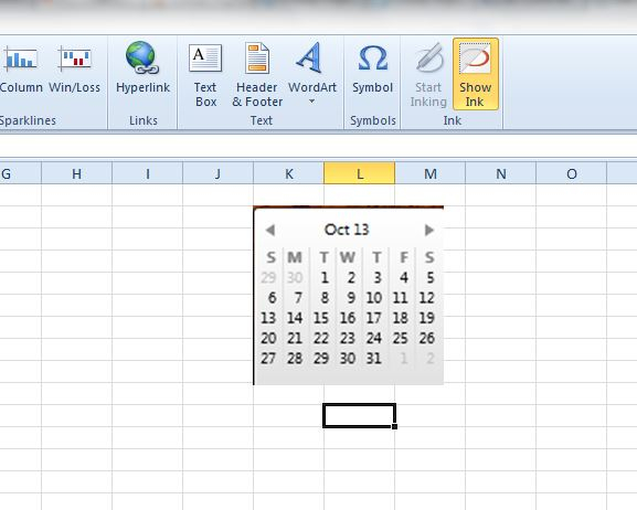 Easy How To: Insert A Small Calendar In An Excel Within Convert A Spreadsheet To A Calendar
