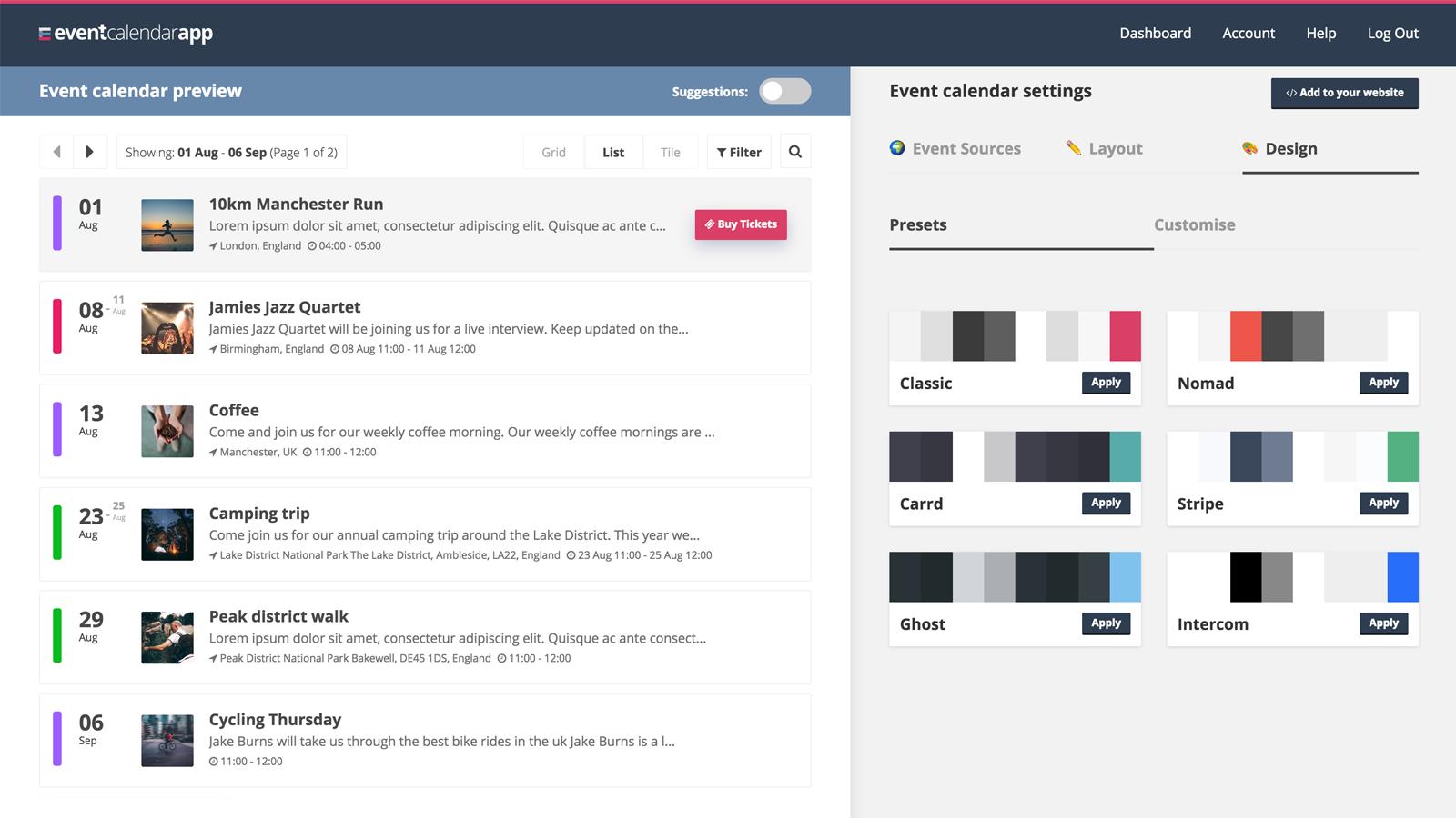 Event Calendar App – Ecommerce Plugins For Online Stores With Put Google Calendar On Desktop