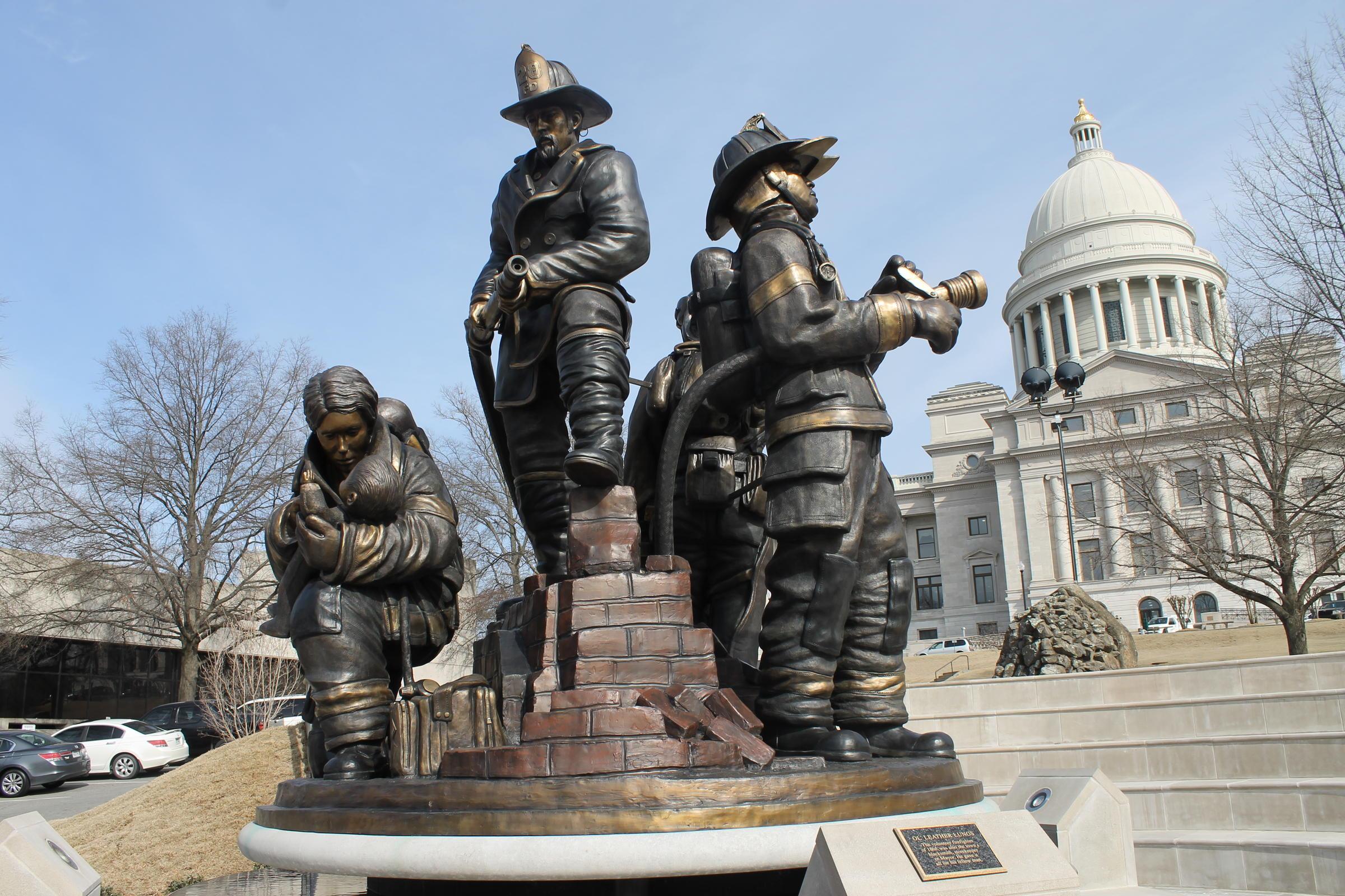 Fallen Firefighters Memorial To Be Dedicated Saturday | Kuar For Little Rock Public School Wall Calendars