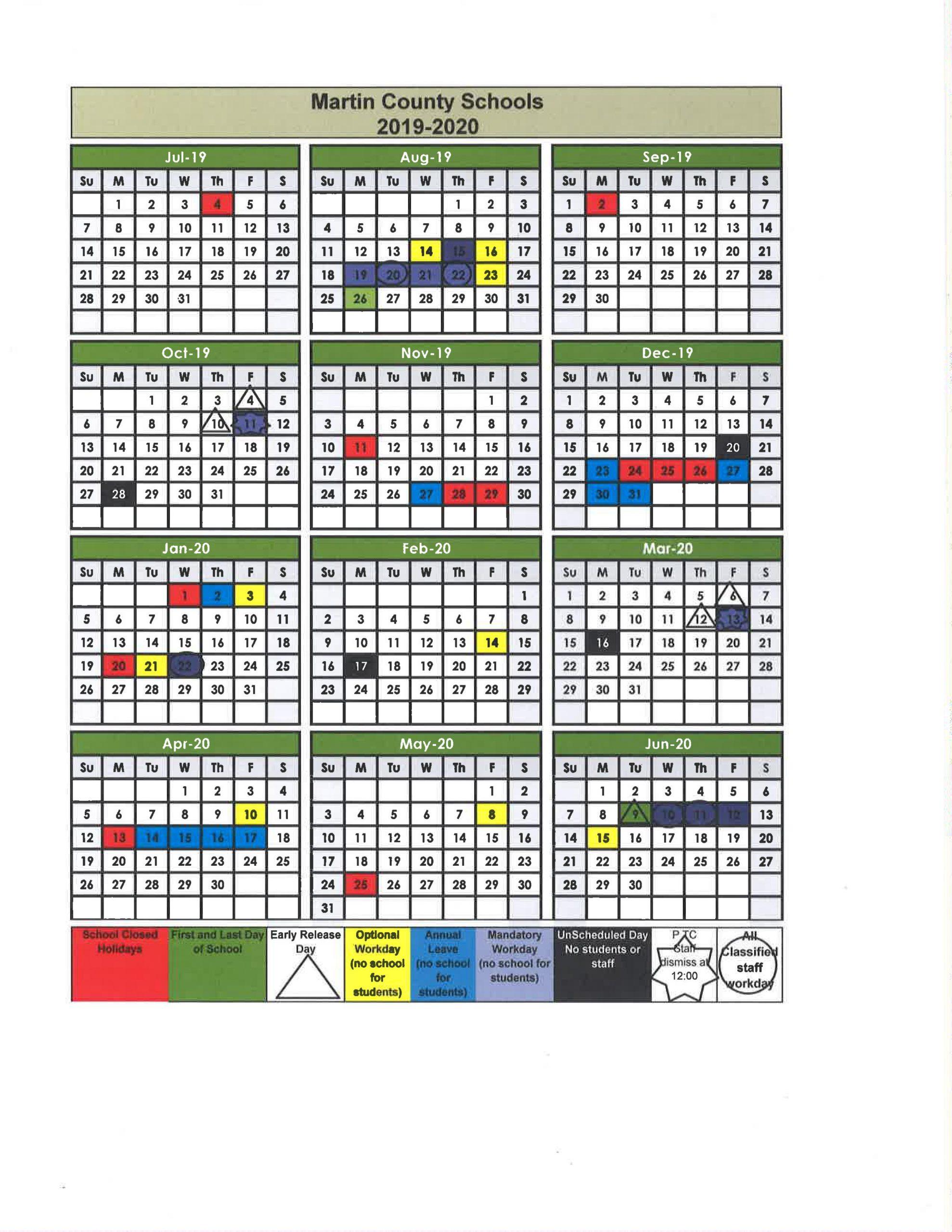 Fayette County Georgia Public School Calendar | Printable Within Georgia State 2020 School Calendar