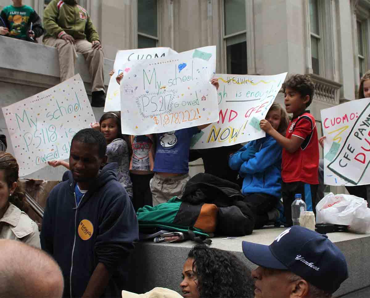 Feet Of Strength | United Federation Of Teachers Pertaining To Nyc Doe School Calenders 2012