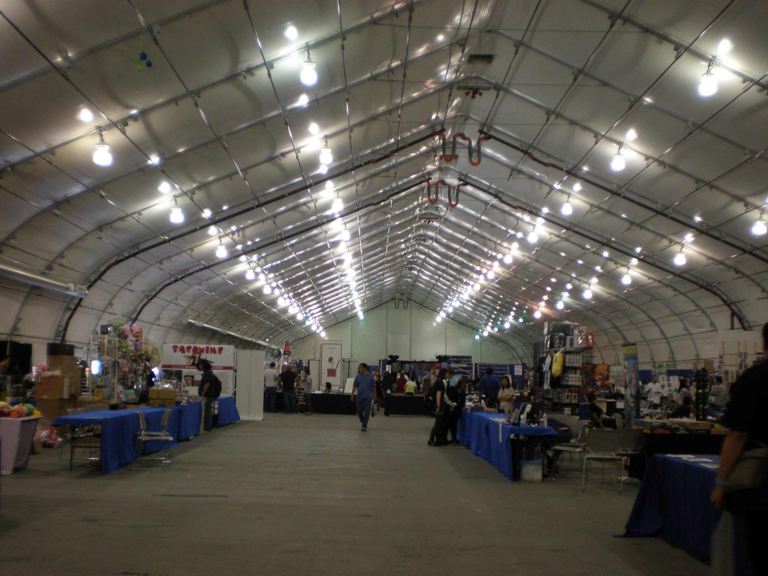 File:sj Convention Center South Hall During Super Con 2009 Within San Jose Convention And Event Calander