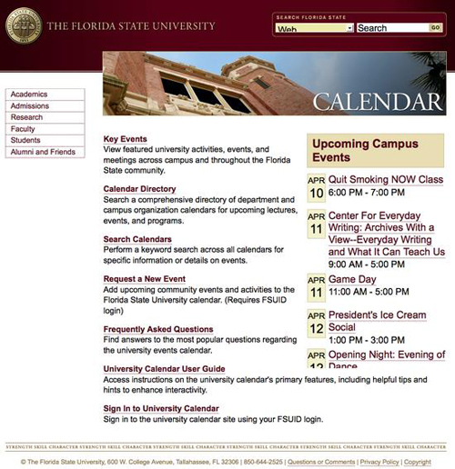 Florida State News And Events For Academic Calendar 2021 2020 University Of Central Florida