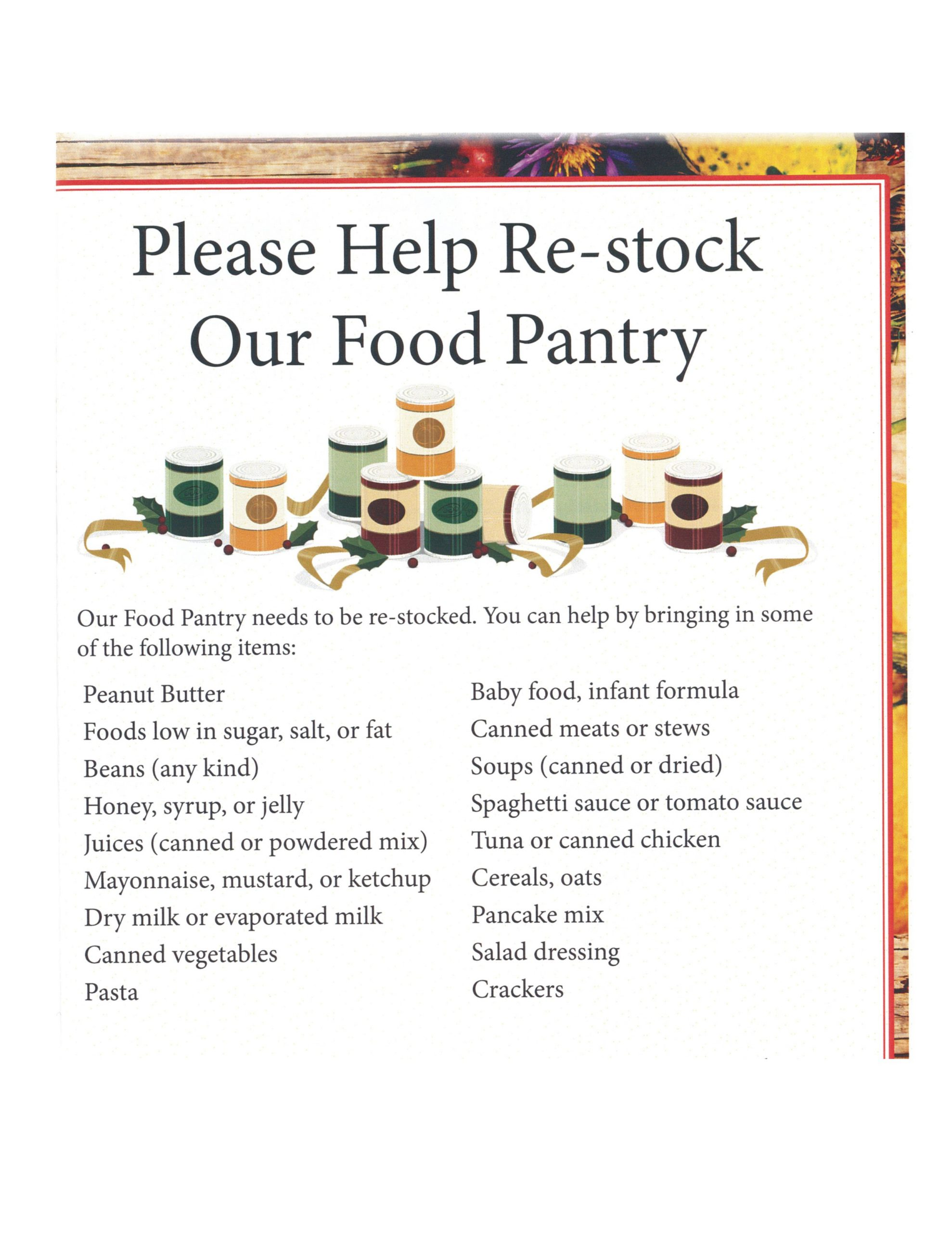 Food Pantry – Suffolk Community College Foundation With Regard To Suffoolk Community College Calendar