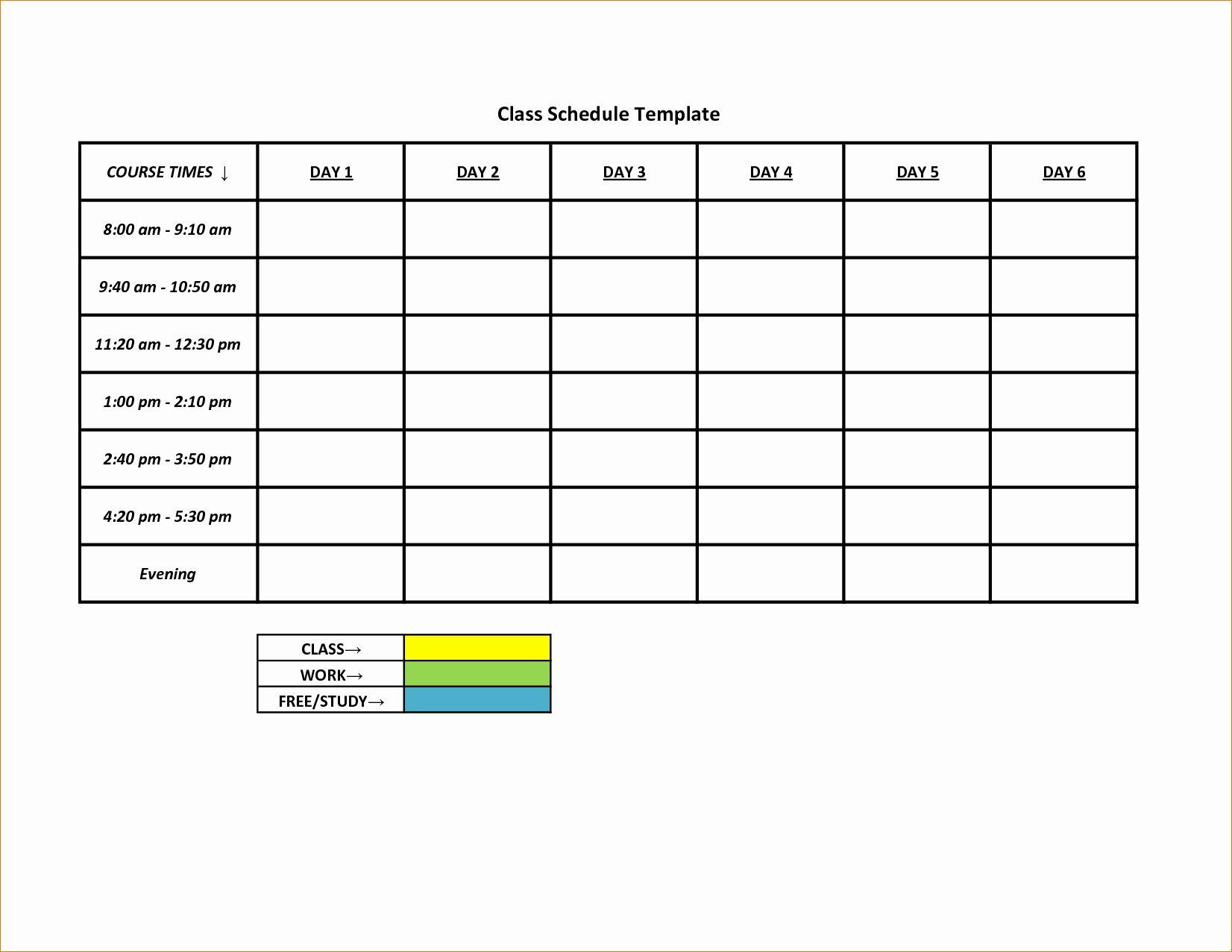 Free Monthly Schedule Template Luxury 3 Printable Work with 52 Week Printable Calendar Blank