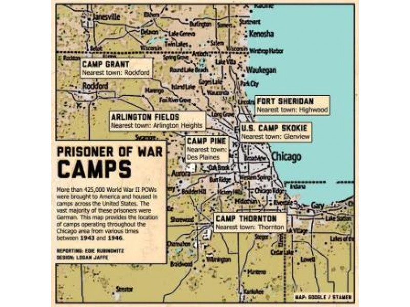 German P.o.w. Camps Of Chicago   Deerfield, Il Patch In Pine Bluff School District 2021 2020 Holiday Schedule