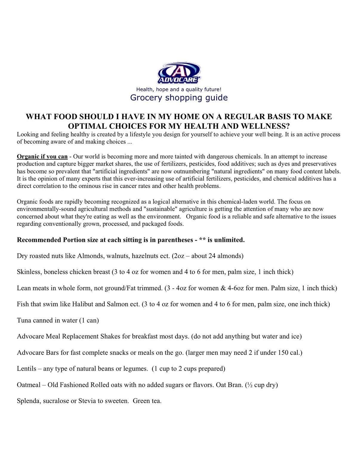 Great List!!! Try The 24 Day Challenge!!! Www.motiveeight Intended For Printable Guide Advocare 24 Day Challenge