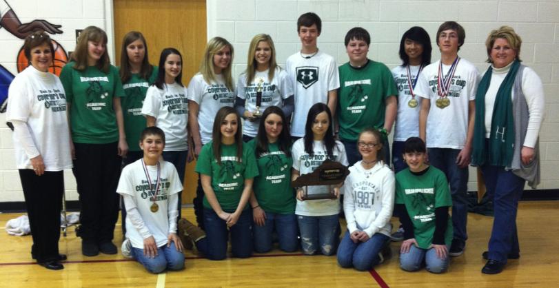 Harlan Middle School Academic Team Regional Champions For Madison County Kentucky School Calendar