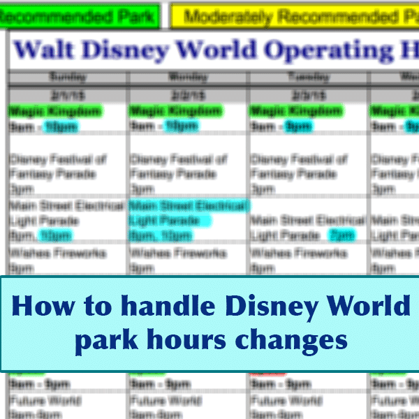 How Park Hours Changes Can Affect You - Prep076 | Wdw Prep Within Calendar Of Extra Magic Hours May 2020 In Wdw