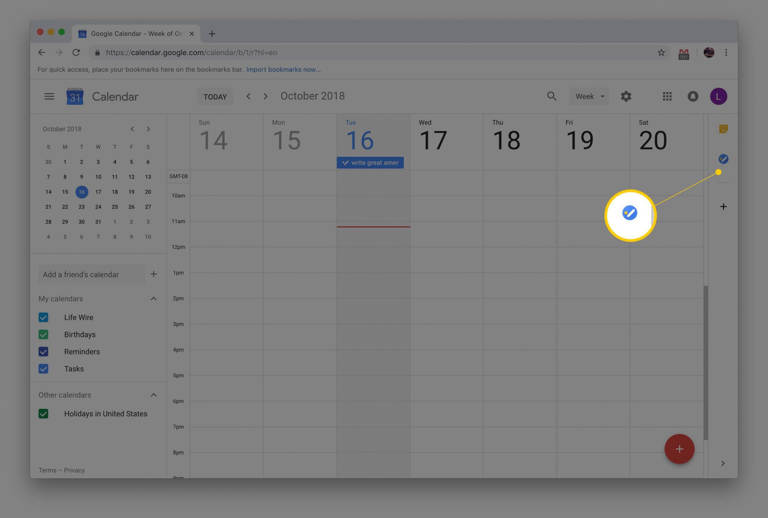 How To Add Tasks To Google Calendar Within Put Google Calendar On Desktop