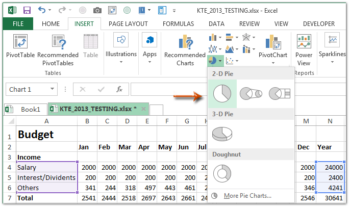How To Make A Monthly Budget Template In Excel? Intended For Create A Drop Down Caledar Excel Sample