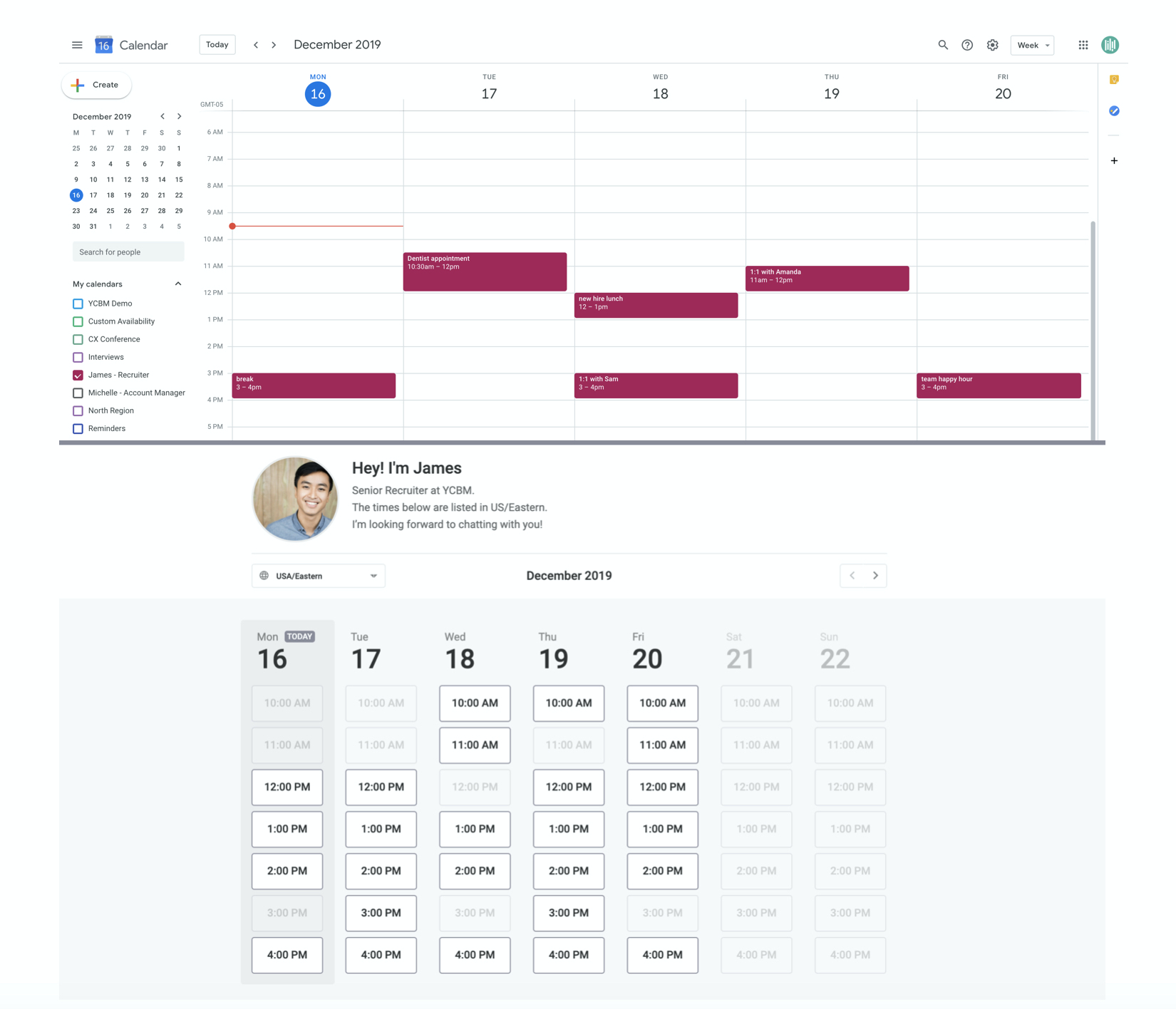 How Youcanbook Works With Your Calendar - Youcanbook throughout Out Of Office Vs Busy Outlook