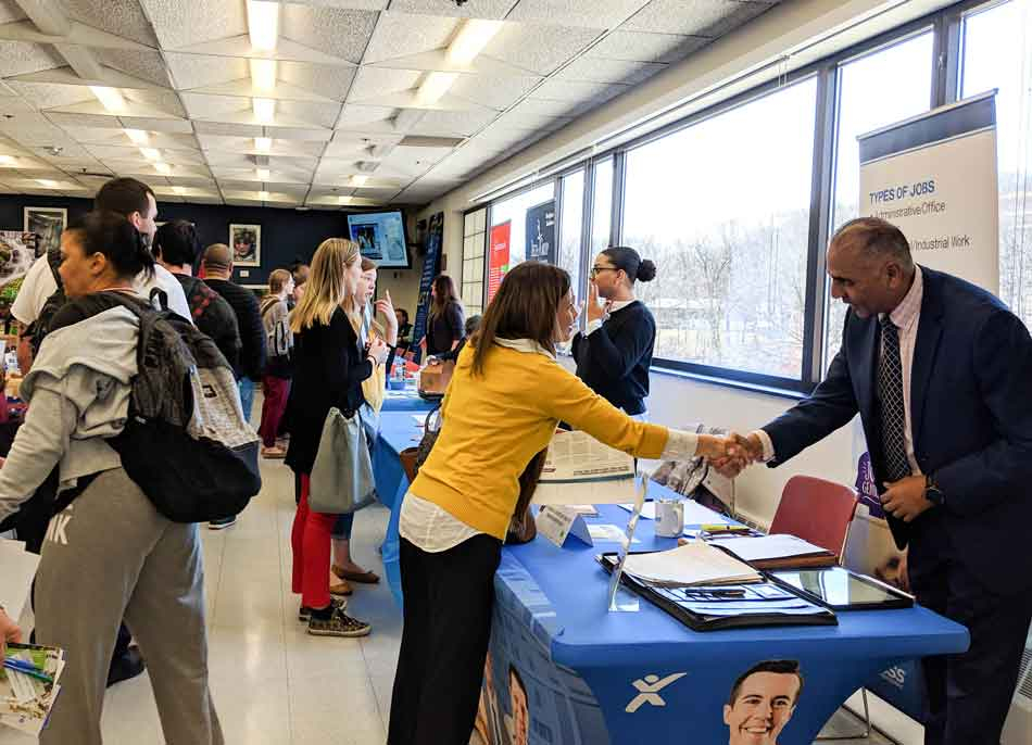 Hundreds Of Students, Dozens Of Employers Connect At Nvcc In Nautatuck Valley Cc School Calendar