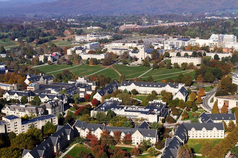 Ivan Morozov   2013.10.26   Aerial View Of Virginia Tech Pertaining To Virginia Tech Event Calendar