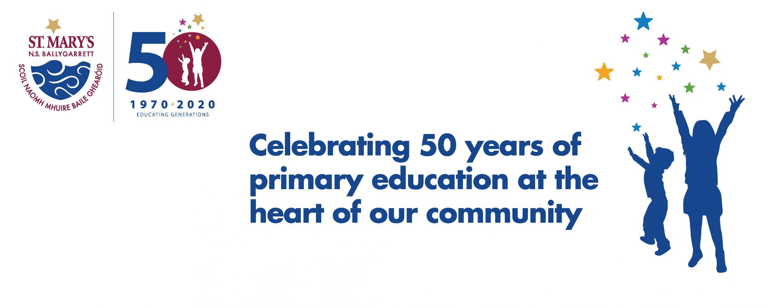 Jubilee 1970 2020   St. Mary'S Ns Ballygarrett Regarding William And Mary School Calendar 2021 2020