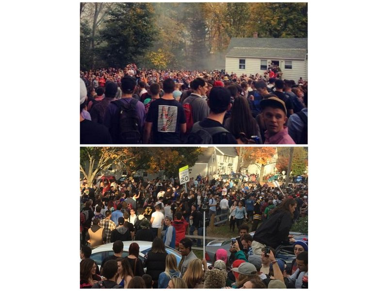 Keene State College Students Riot At Pumpkin Festival Throughout Keene State College Calendar