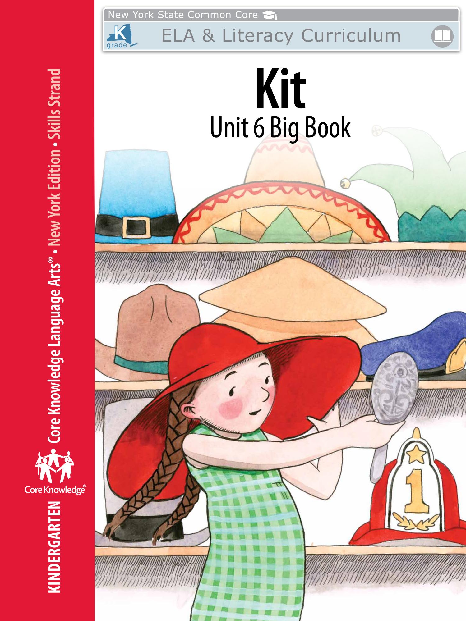 "Kindergarten: Skills Unit 6 Big Book ""Kit""   Engageny With Nyc School Calendar 2015 16"