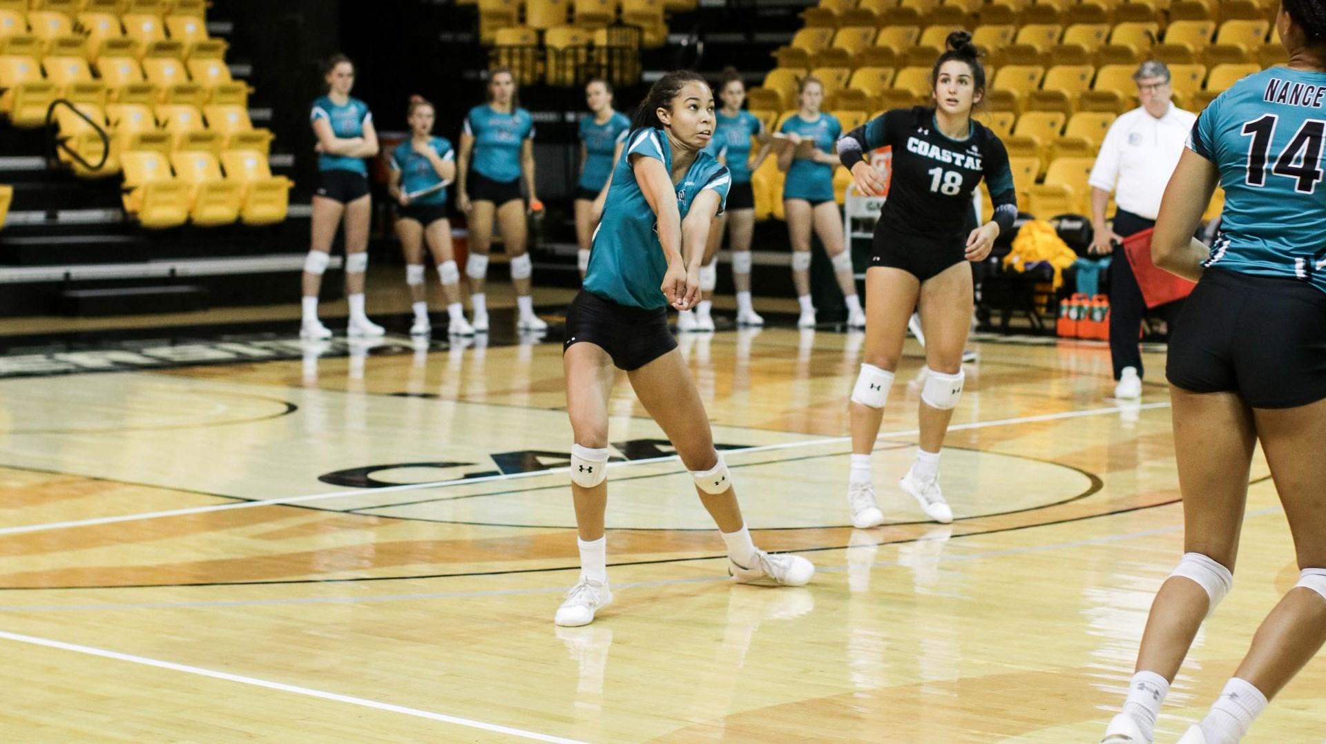 Kyla Manning - Women'S Volleyball - Coastal Carolina Intended For Alabama State University Fall 19 School Schedule