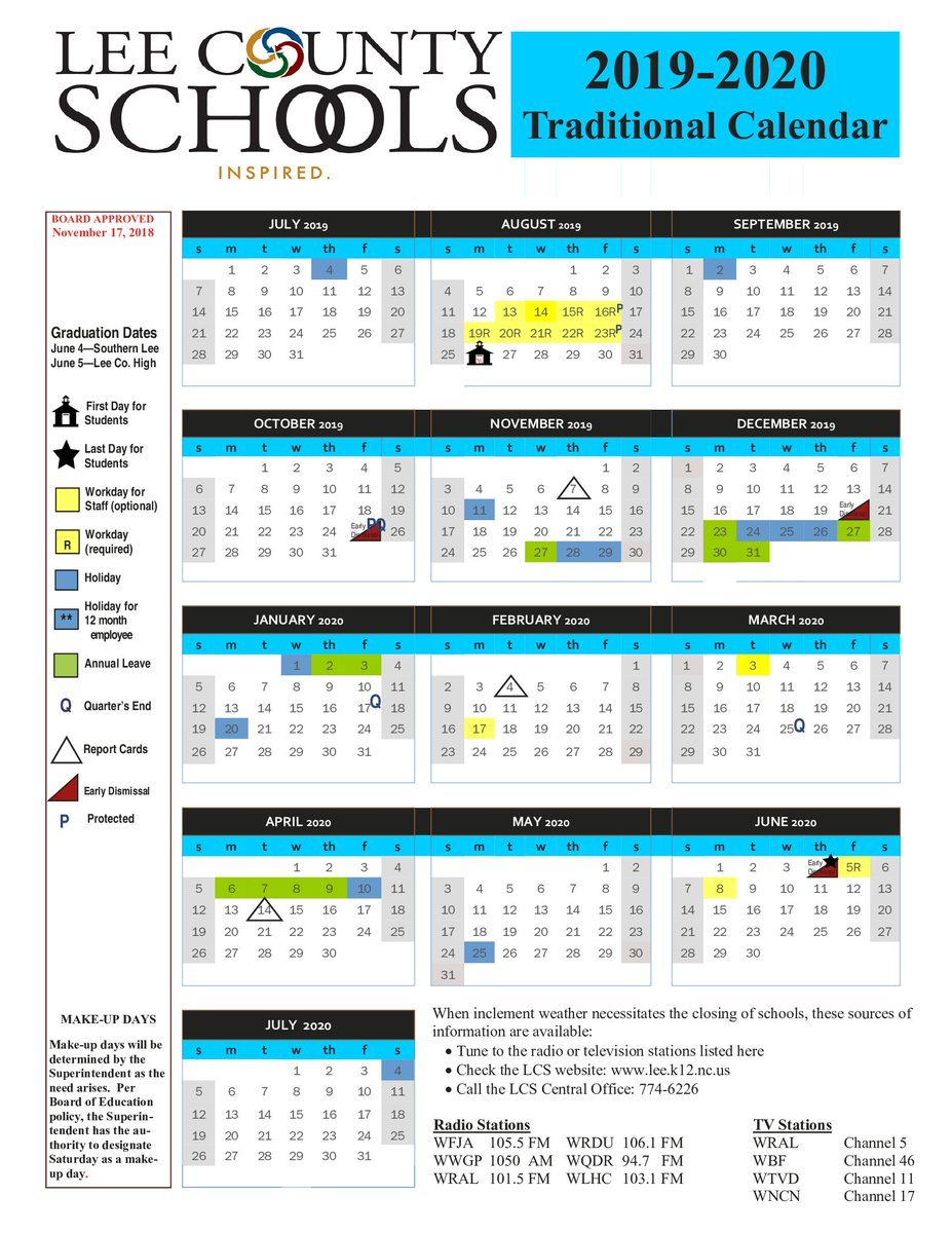 Lee County School Calendar 2020 17   Exam Calendar With Regard To Boyertown School District Calendar 2020 17