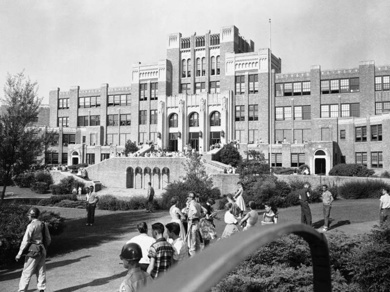 'Little Rock Nine': 60 Years Ago, Troops With Bayonets Had Pertaining To Pine Bluff School District 2021 2020 Holiday Schedule