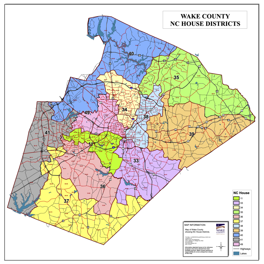 Maps 2019 — Wake County Democratic Party For Calendars Of District And Superior Salisbury Nc