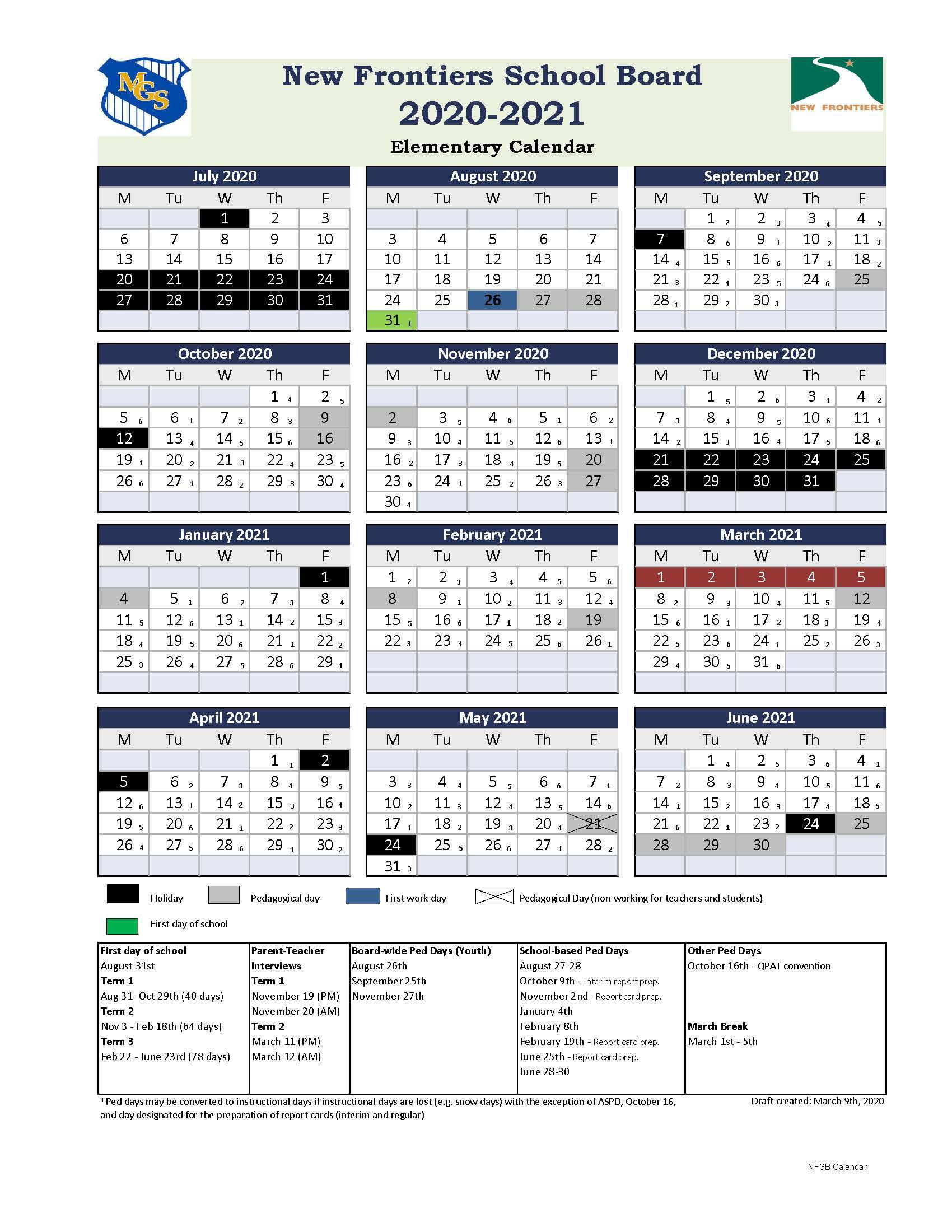 Mary Gardner School » Calendars Throughout William And Mary School Calendar 2021 2020