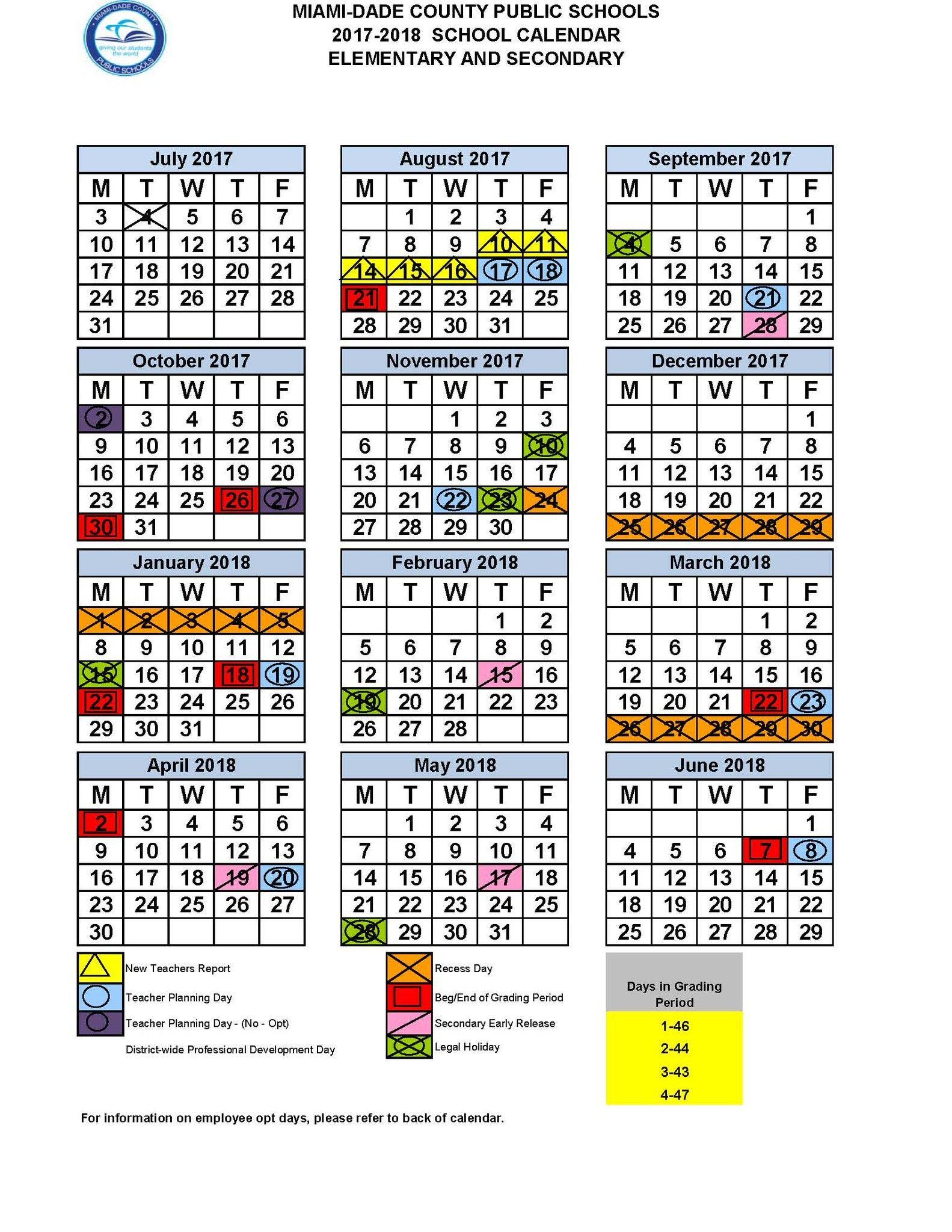 Miami Dade Calendar 2020   Free Printable Calendar For Middle Early College Nashville Spring Break