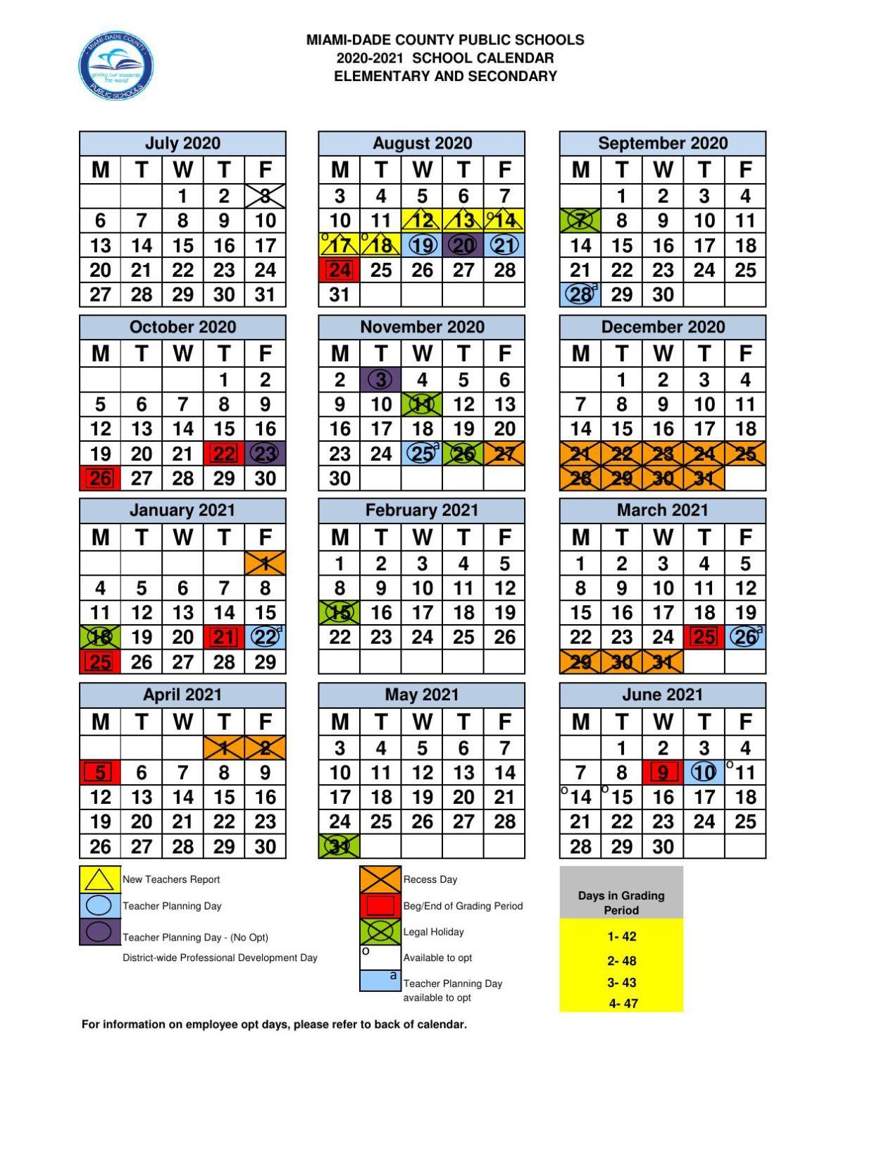 Miami Dade County School Board Approves 2020 21 School Throughout Las Cruces Public Schools Calendar 2021 2020