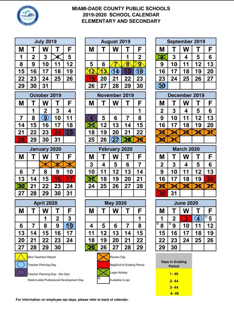 Miami Dade Public School Calendar 2020 17   Calendar Fall 2020 Intended For Boyertown School District Calendar 2020 17