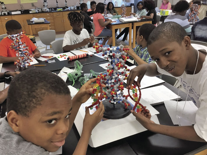Middle School Students Trace Their Roots At Usc Genetics In Richland County School District 02 Calendar