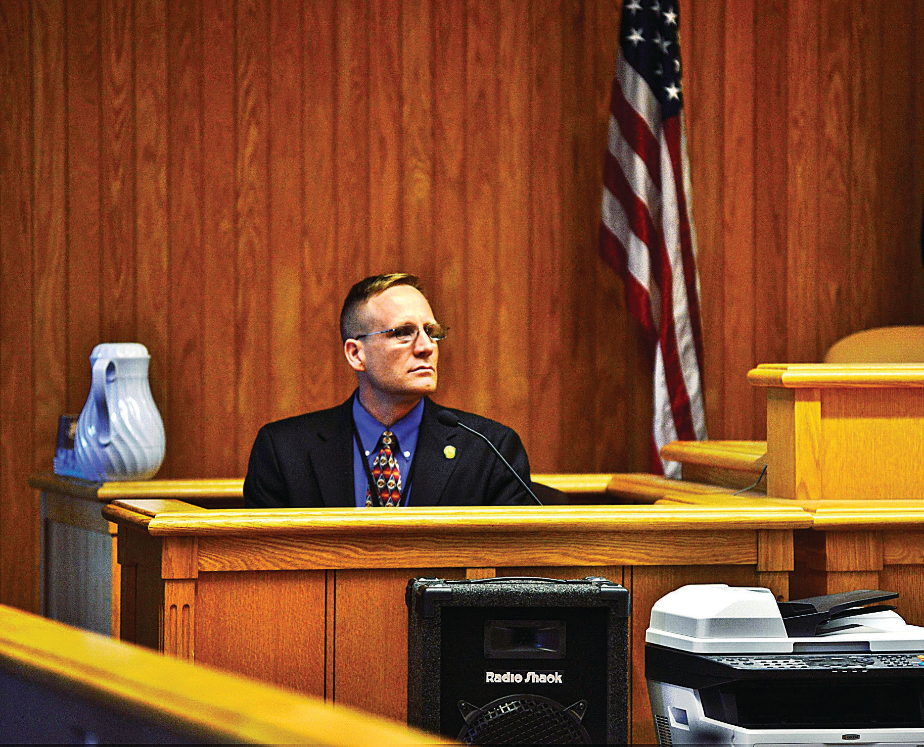 Murder Trial: Testimony Centers On O'Neill'S State Of Mind With Regard To Deshutes County Traffic Court Schedule