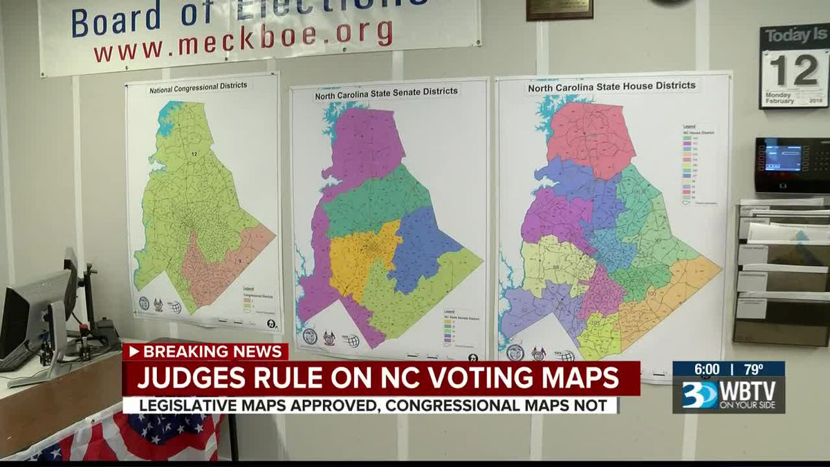 Nc Judges Approve Legislative Maps, Rule Against Pertaining To Calendars Of District And Superior Salisbury Nc
