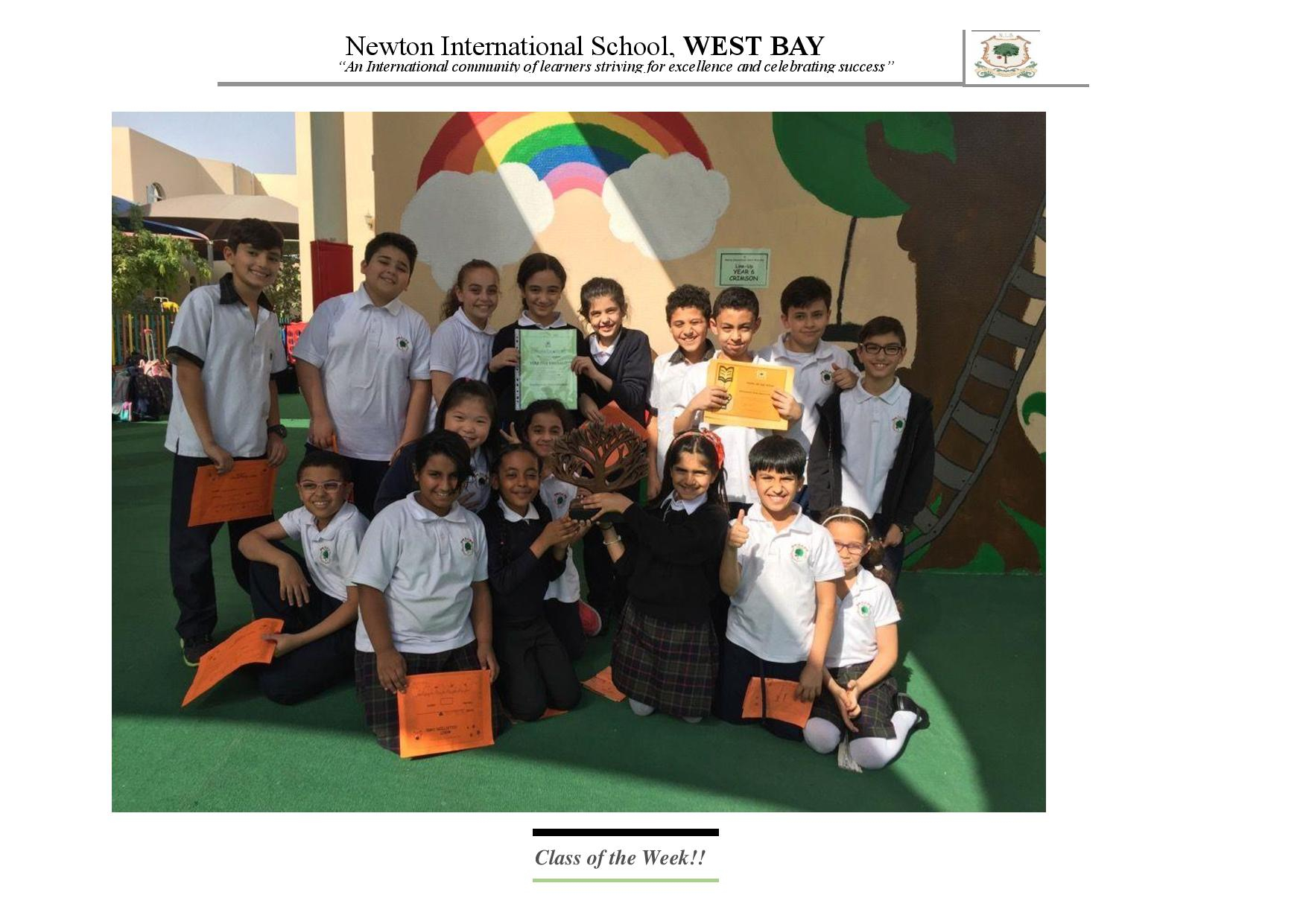 Newton International School West Bay, Doha Within Bay City Public School Calendar