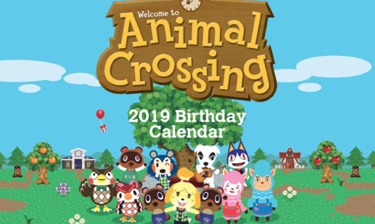 Nintendo Releases Printable Animal Crossing Calendar Intended For Animal Crossing New Leaf Calendar