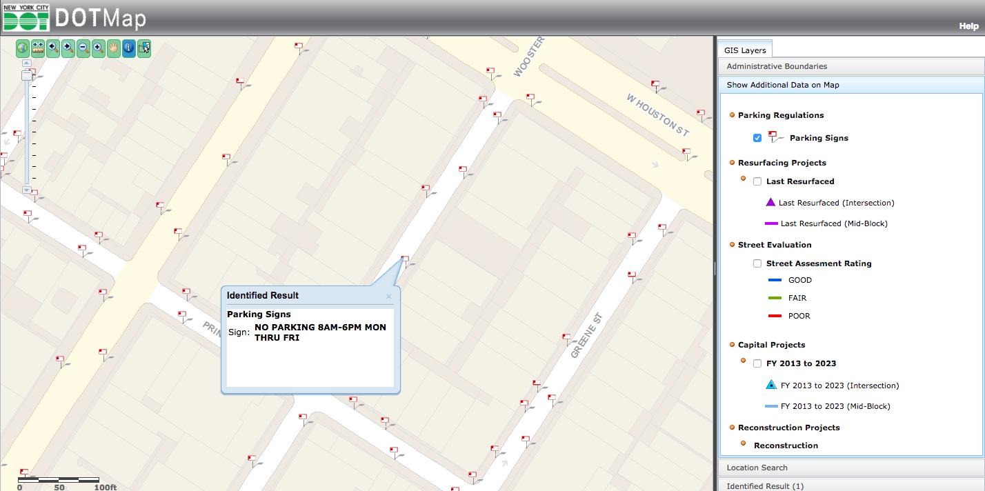Nyc Alternate Side Parking Map Dot In Alternate Parking Nyc Calendar