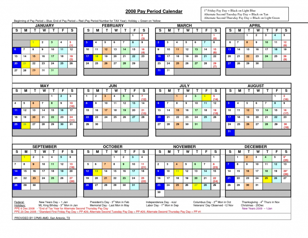 Opm Paid Calendar 2020 – Calendar Template 2020 Within San Diego County Court Holiday Schedule