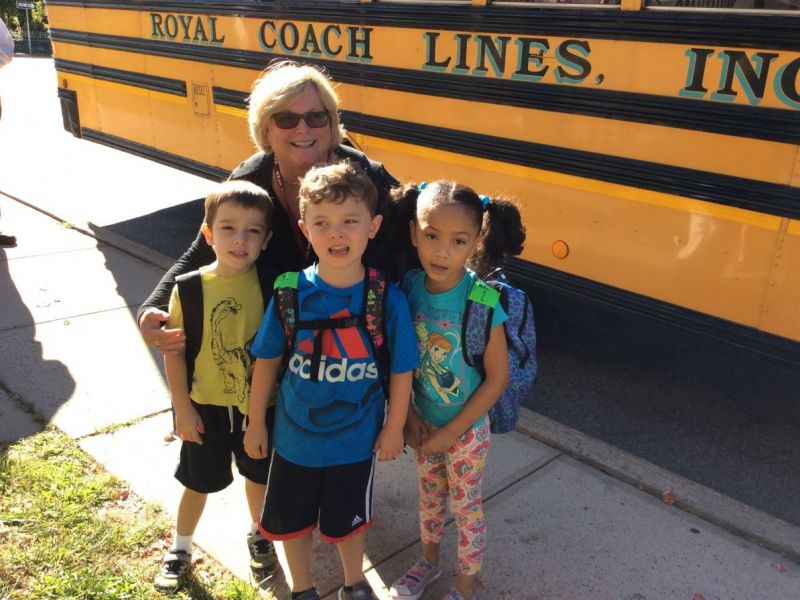 Ossining Superintendent Rides Bus With Kindergarteners On For White Plains School District Calendar
