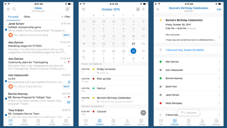 Outlook On Android And Ios Getting Improved Design Inside Merge Outlook Calendar With Google