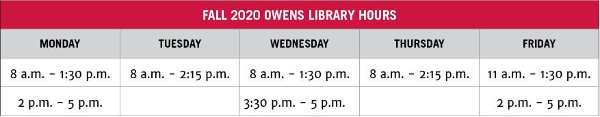 Owens Library   Resources   College Of Environment + Design Regarding Owens Community College Calendar