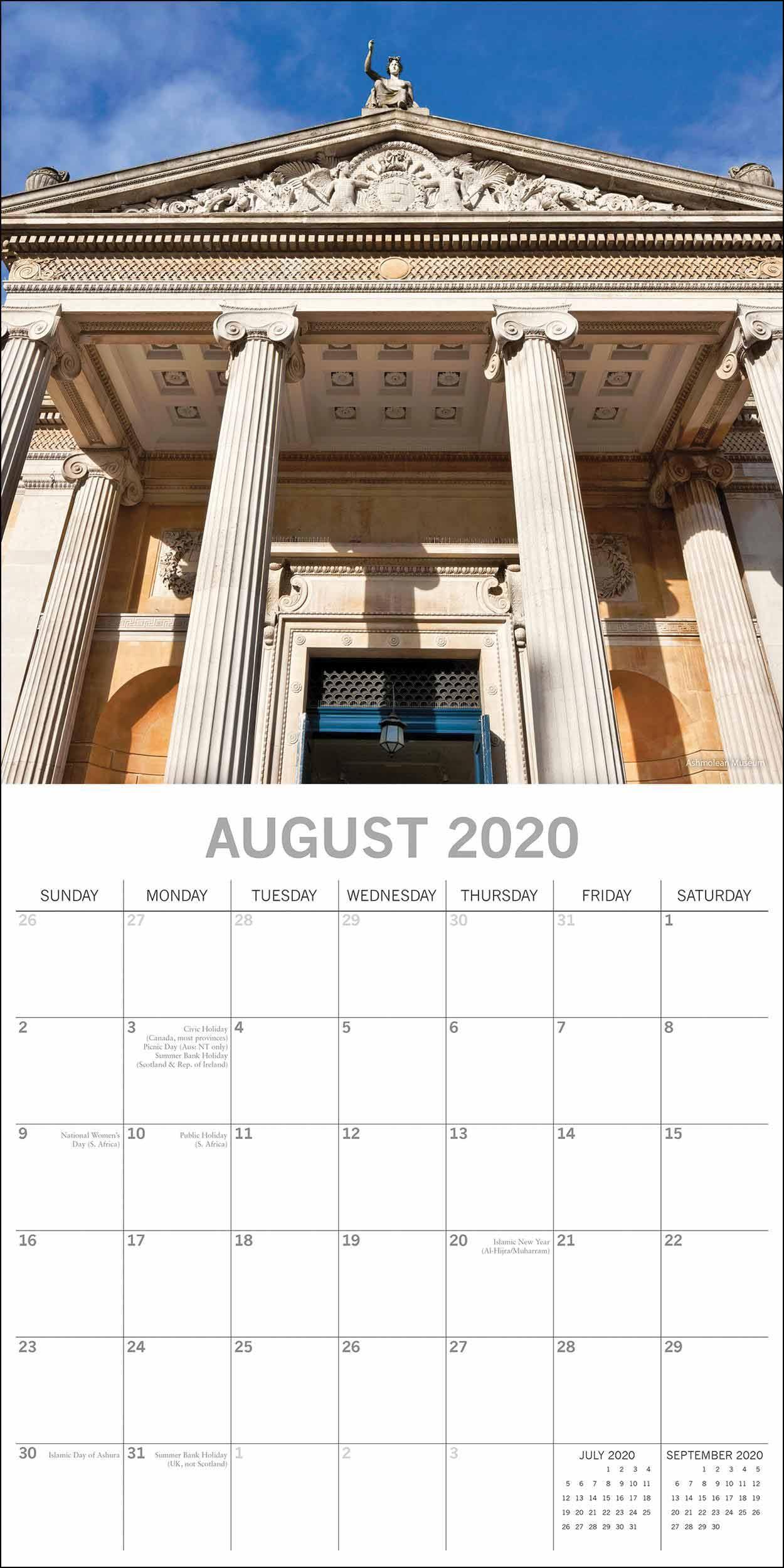 Oxford Calendar 2020 – Calendar Club Uk In University Of Northern Colorado Academic Calendar 2020 Fall