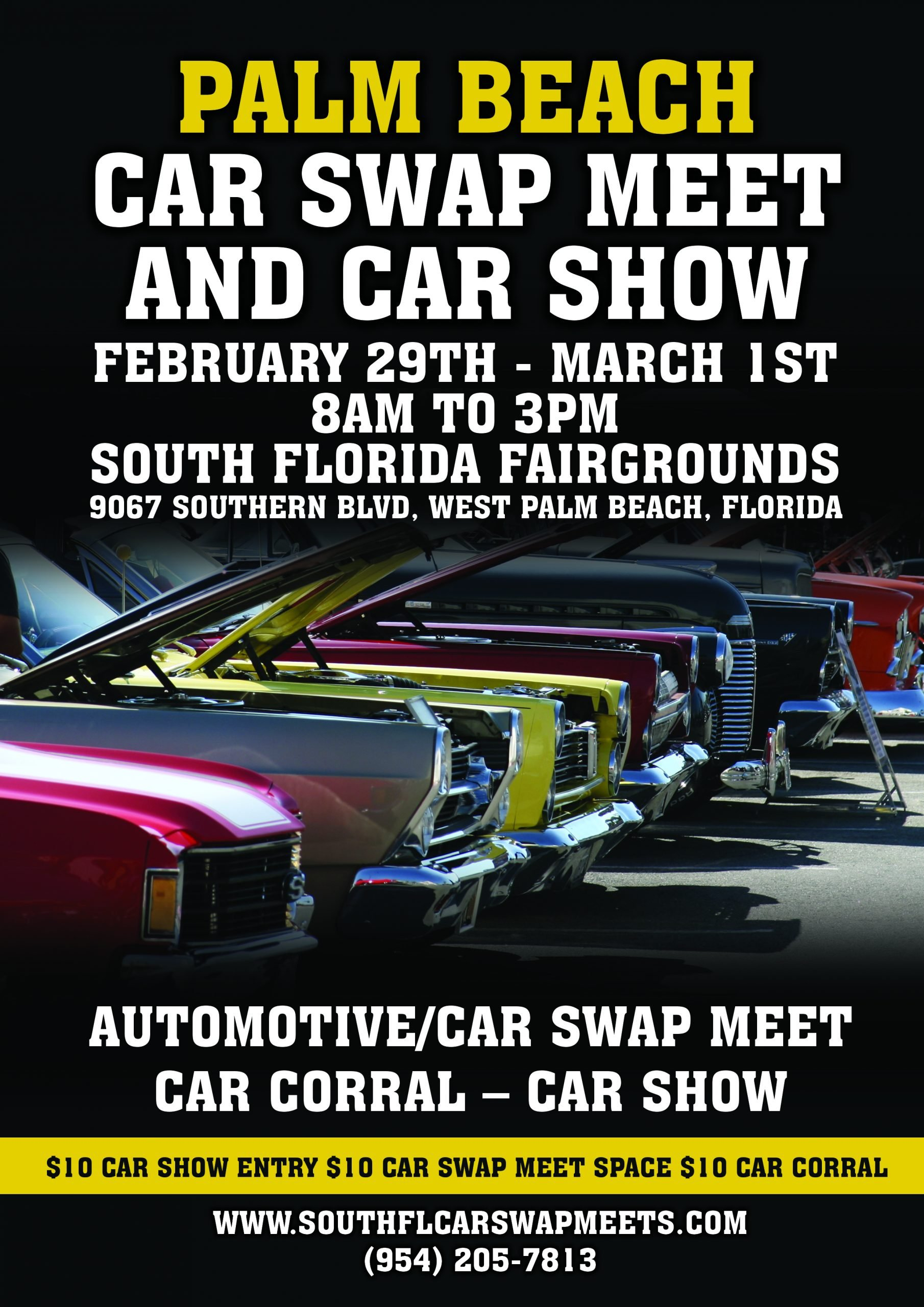 Palm Beach Automotive/Car Swap Meet And Car Show Within South Florida Fairgrounds Event Schedule February 2020